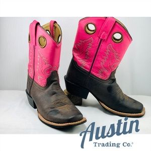Austin Trading Co. Kids' GiddyUps Cowgirl Boots